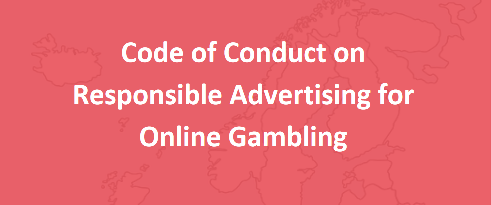 Premier code de conduite européen pour une publicité responsable pour des jeux de hasard en ligne
